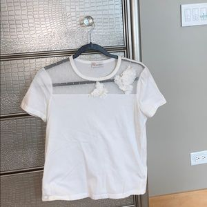 WHITE VALETINO SHIRT